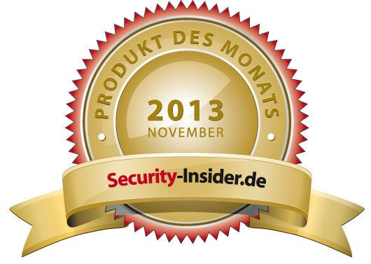 Security-Insider.de – Produkt des Monats November 2013